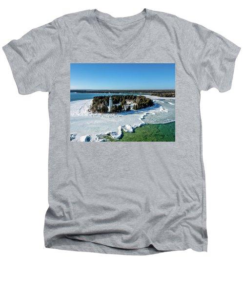 Cana Island Men's V-Neck T-Shirt