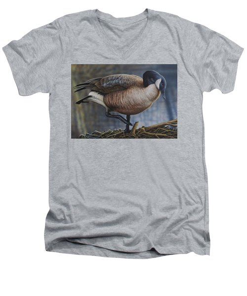 Canada Goose Men's V-Neck T-Shirt