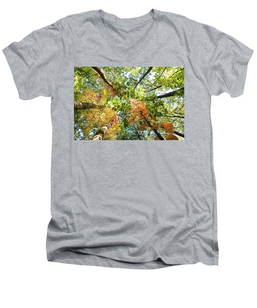 Canadian Foliage Men's V-Neck T-Shirt