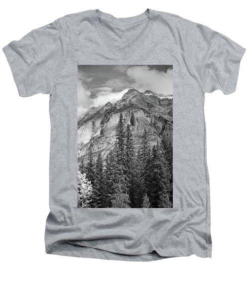 Canadian Rockies No. 2-2 Men's V-Neck T-Shirt