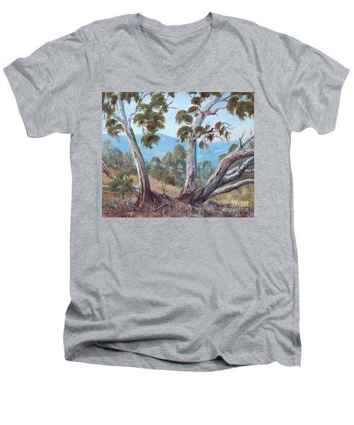 Canberra Hills Men's V-Neck T-Shirt