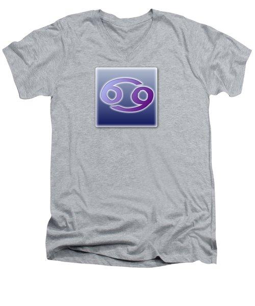 Cancer June 20 - July22 Men's V-Neck T-Shirt