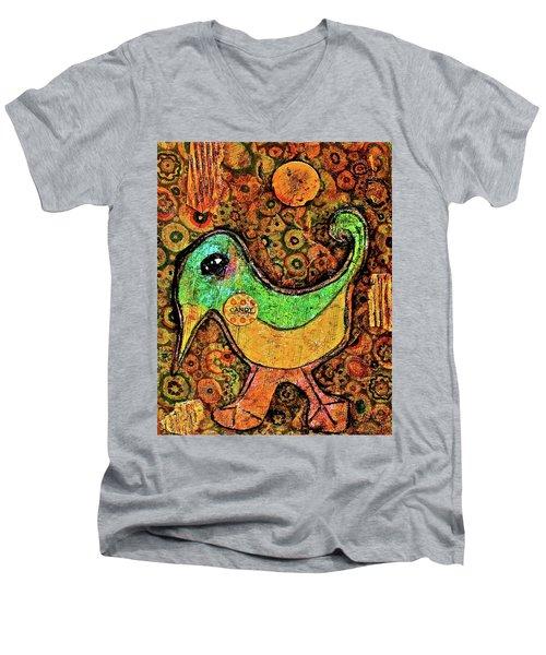 Candy Bird Men's V-Neck T-Shirt