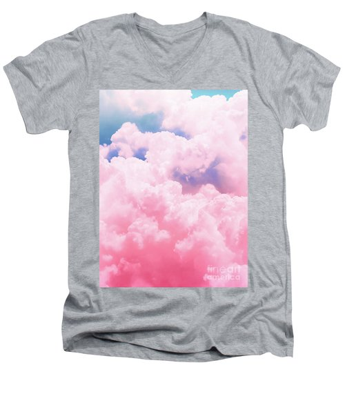 Candy Sky Men's V-Neck T-Shirt