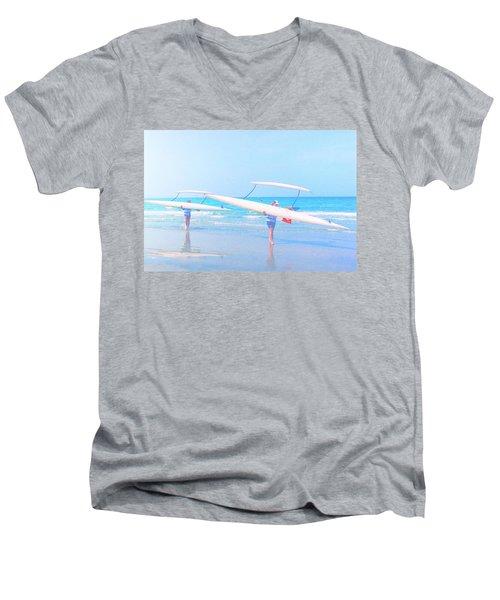 Canoe Ladies Men's V-Neck T-Shirt