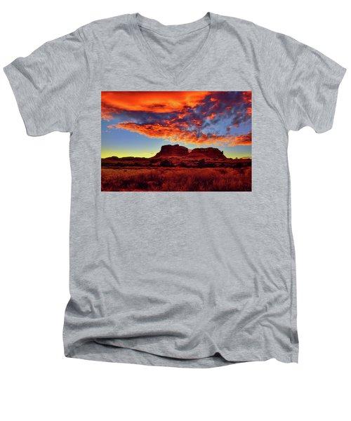 Canyonlands Sunset Men's V-Neck T-Shirt