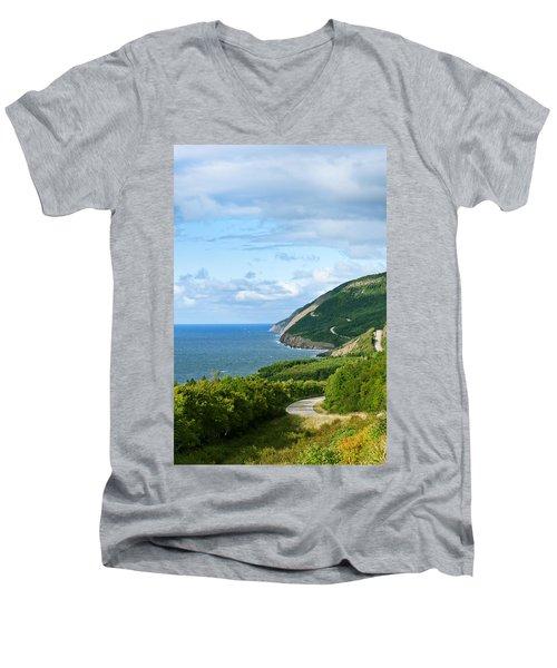Cape Breton Highlands National Park Men's V-Neck T-Shirt