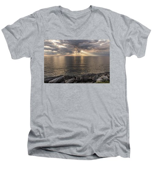 Cape Breton Island Men's V-Neck T-Shirt