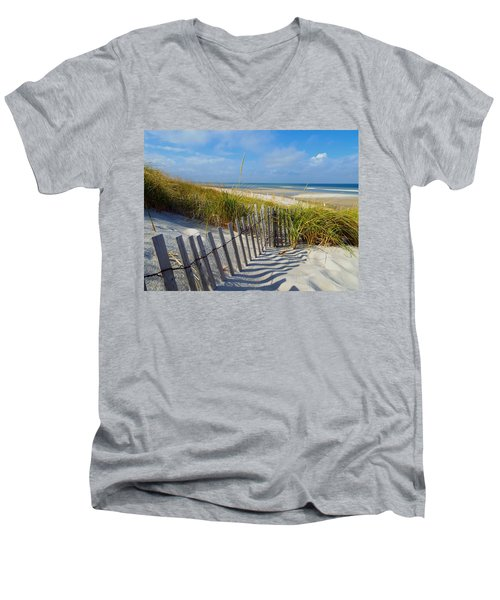 Cape Cod Charm Men's V-Neck T-Shirt