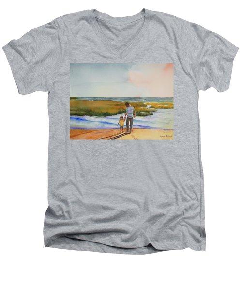 Cape Cod Sunset Men's V-Neck T-Shirt