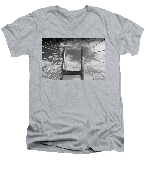 Cape Girardeau Bridge Men's V-Neck T-Shirt