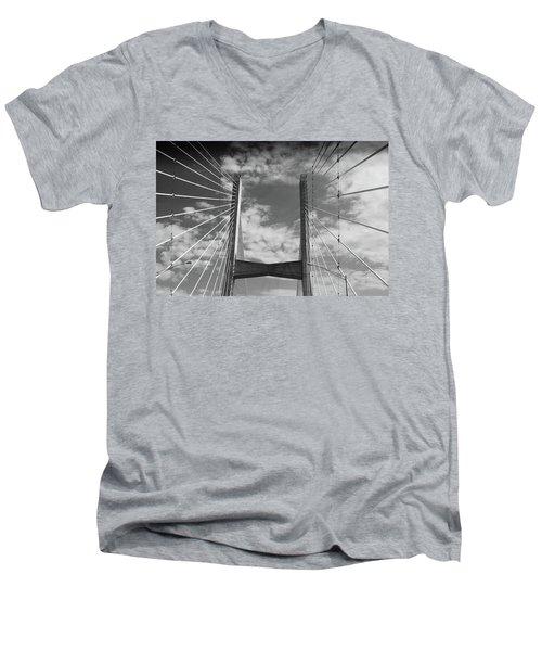 Cape Girardeau Bridge Men's V-Neck T-Shirt