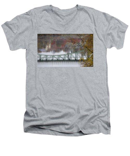 Capital Reflection Men's V-Neck T-Shirt