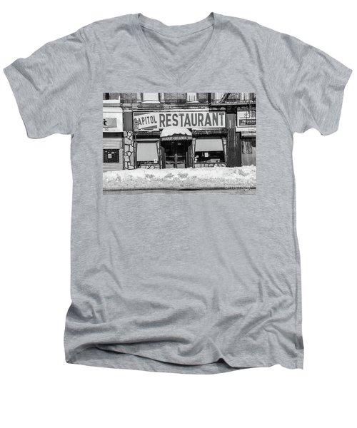 Capitol Restaurant Men's V-Neck T-Shirt
