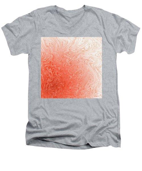 Capsicum Mist Men's V-Neck T-Shirt