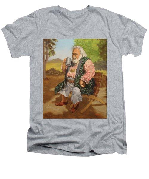 Captain Terry Men's V-Neck T-Shirt