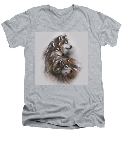 Captivated Men's V-Neck T-Shirt