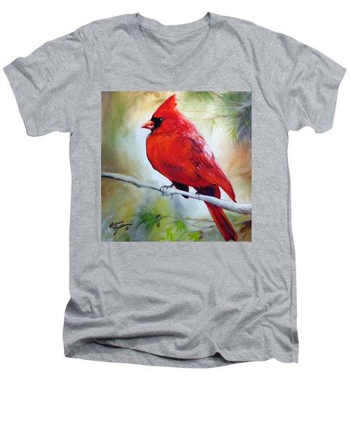 Cardinal 18 Men's V-Neck T-Shirt