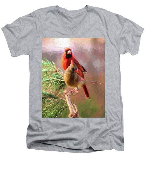 Cardinals2 Men's V-Neck T-Shirt