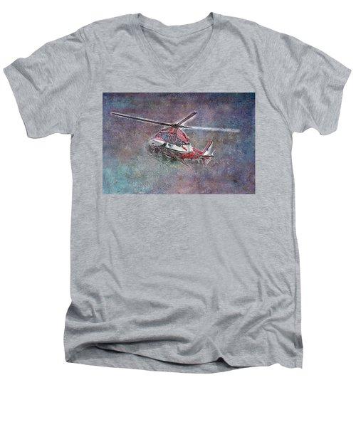 Care Flight Men's V-Neck T-Shirt