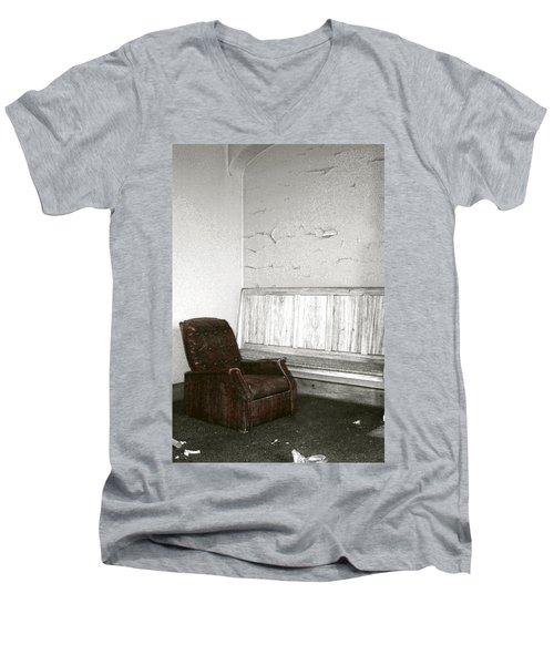 Care To Relax? Men's V-Neck T-Shirt