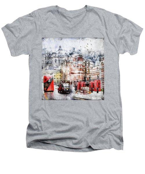 Carey Street Men's V-Neck T-Shirt