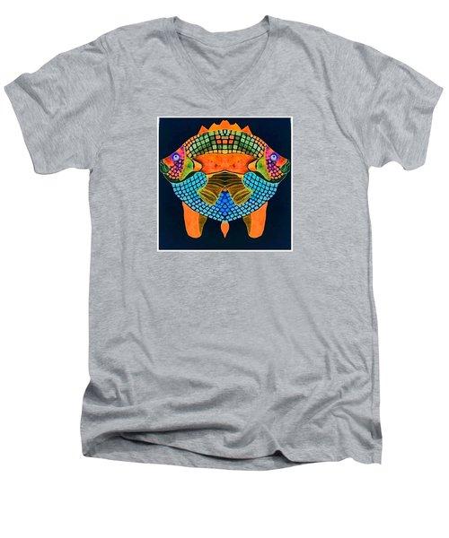 Caribean Fish Men's V-Neck T-Shirt