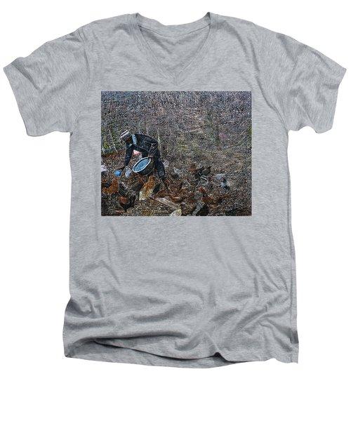 Caring For A Profit Men's V-Neck T-Shirt