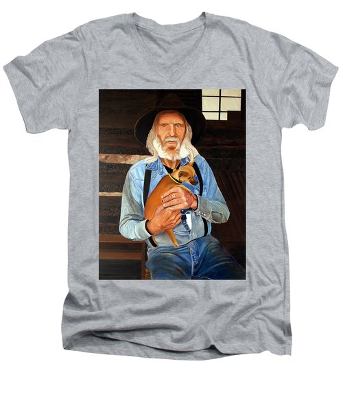 Caring Paws Men's V-Neck T-Shirt