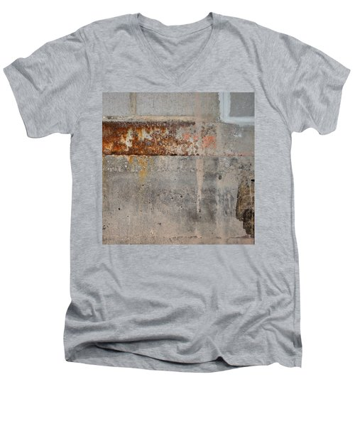Carlton 16 Concrete Mortar And Rust Men's V-Neck T-Shirt