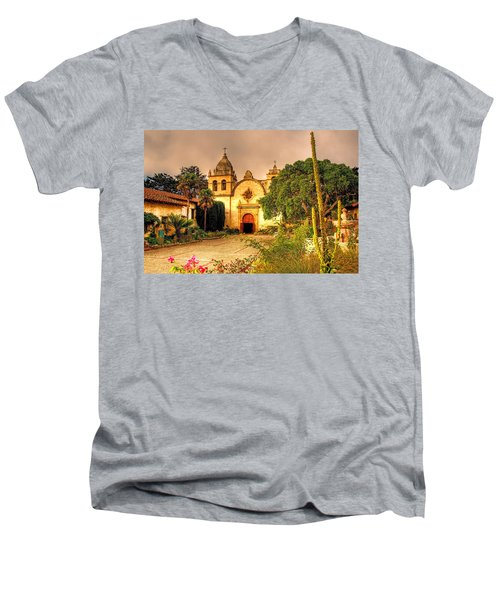 Carmel Mission Men's V-Neck T-Shirt