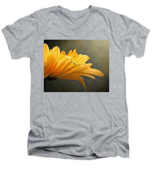 Carnation Men's V-Neck T-Shirt