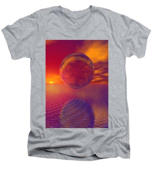 Carnavle Men's V-Neck T-Shirt