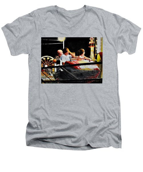 Carnival Ride Men's V-Neck T-Shirt