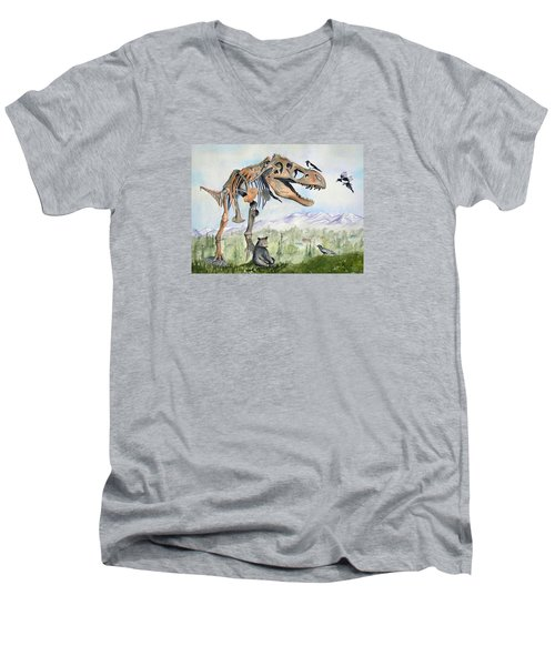 Carnivore Club Men's V-Neck T-Shirt