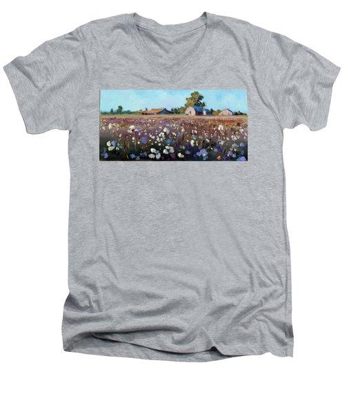 Carolina Cotton I Men's V-Neck T-Shirt