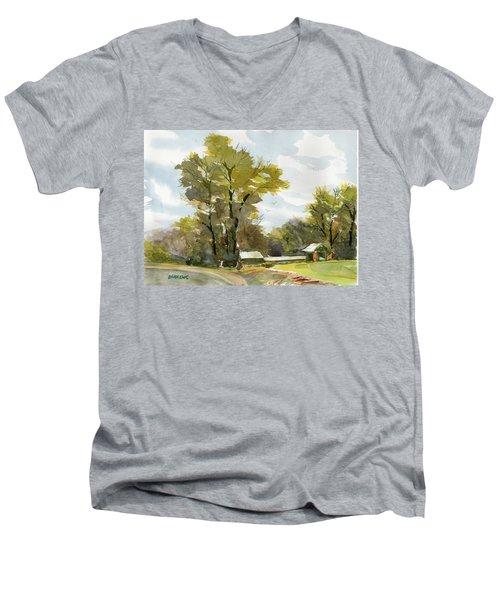 Carolina Farm Field Men's V-Neck T-Shirt