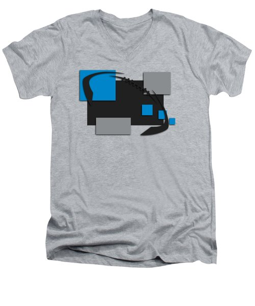 Carolina Panthers Abstract Shirt Men's V-Neck T-Shirt