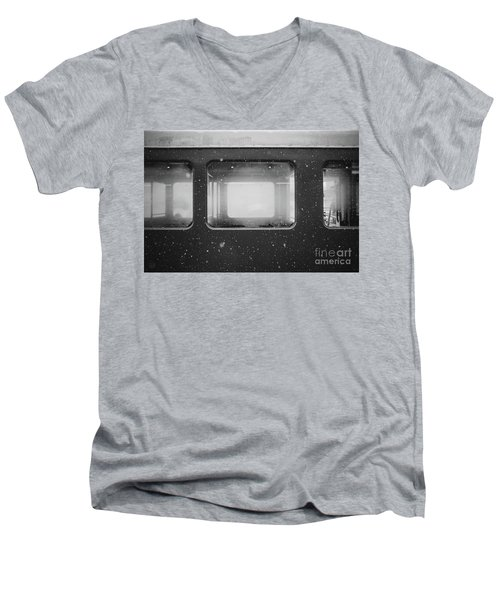 Men's V-Neck T-Shirt featuring the photograph Carriage by MGL Meiklejohn Graphics Licensing