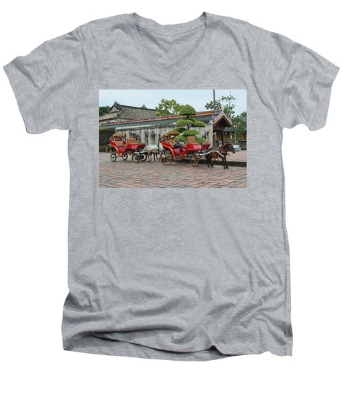 Carriage Rides Men's V-Neck T-Shirt
