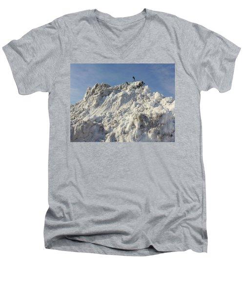 Cart Art No. 31 Men's V-Neck T-Shirt