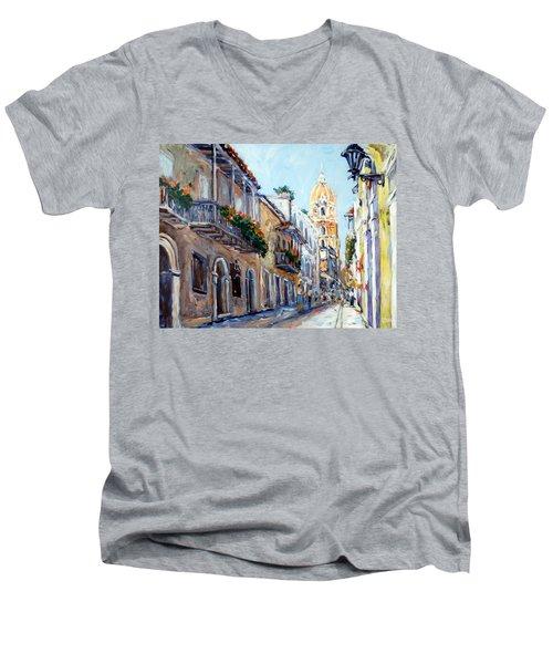 Cartagena Colombia Men's V-Neck T-Shirt