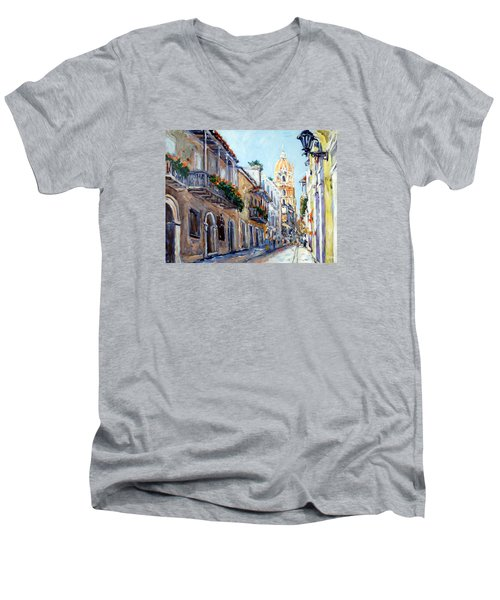 Cartagena Colombia Men's V-Neck T-Shirt
