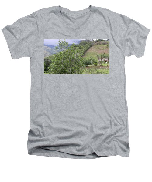 Casa Campo Adjuntas Men's V-Neck T-Shirt