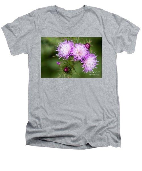 Casa Del Campo 1 Men's V-Neck T-Shirt by Ana Mireles