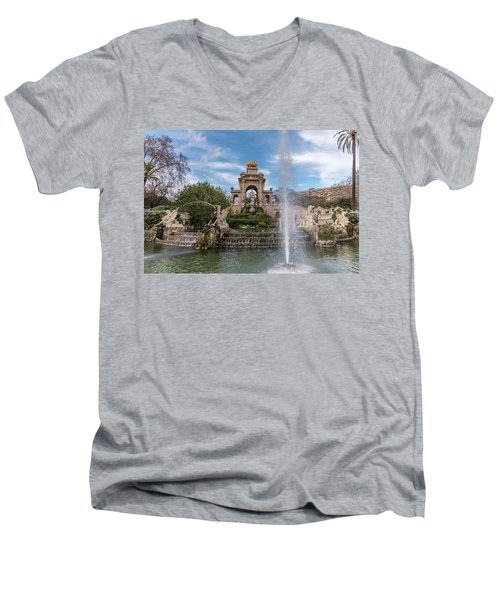 Cascada Monumental Men's V-Neck T-Shirt