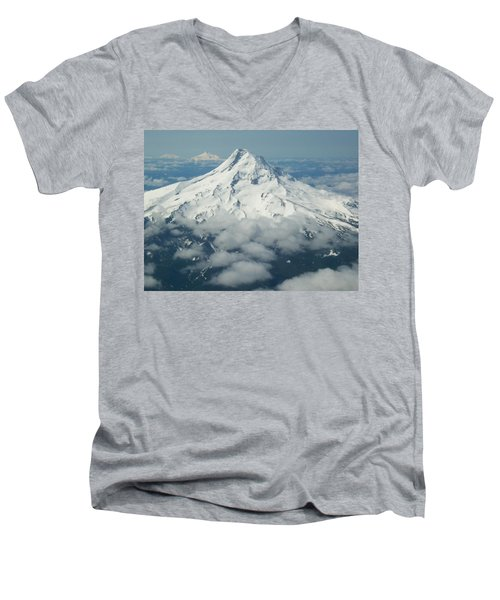 Cascadia Men's V-Neck T-Shirt