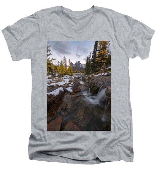 Cascading Men's V-Neck T-Shirt