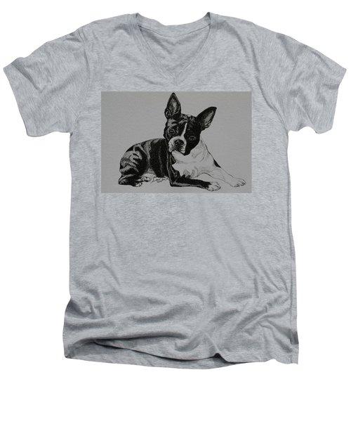 Cashman Men's V-Neck T-Shirt