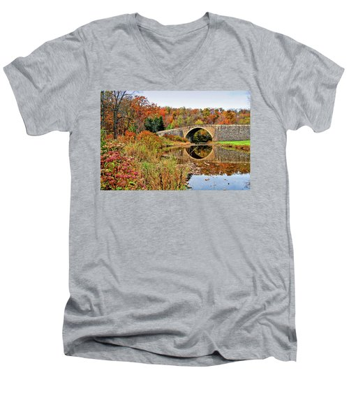 Casselman River Bridge Men's V-Neck T-Shirt